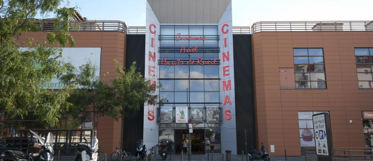 Ariel cinema on the heights of Rueil
