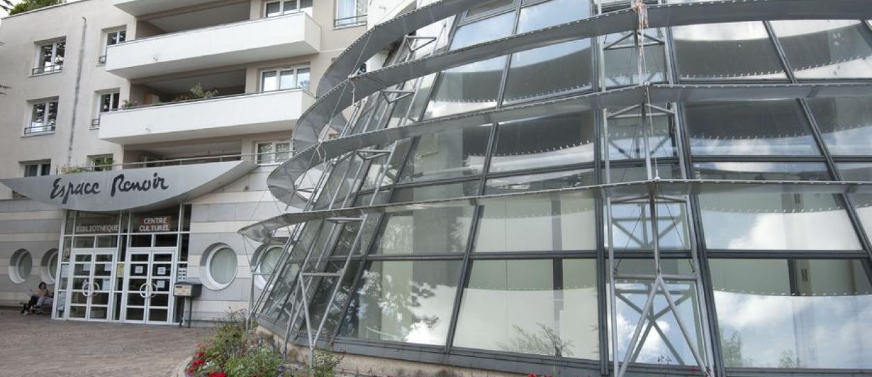 Bibliothèque et ludothèque de l'Espace Renoir
