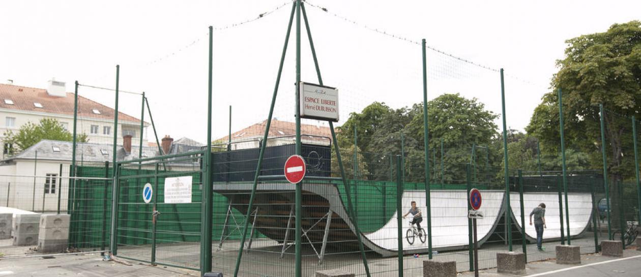 skate park - Caserne Guynemer