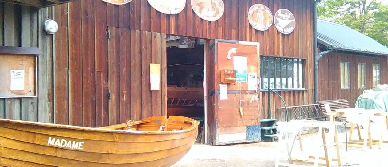 Sequana boat-restoration workshops