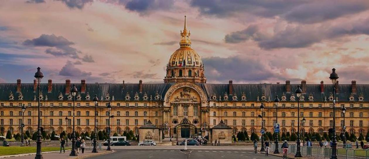 Une journée à Rueil et à Paris (Hôtel National des Invalides)