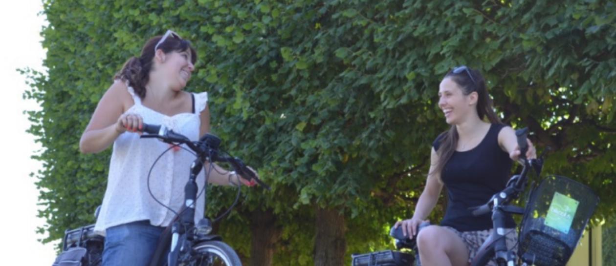 Balade en vélo électrique sur les bords de Seine et dans la forêt