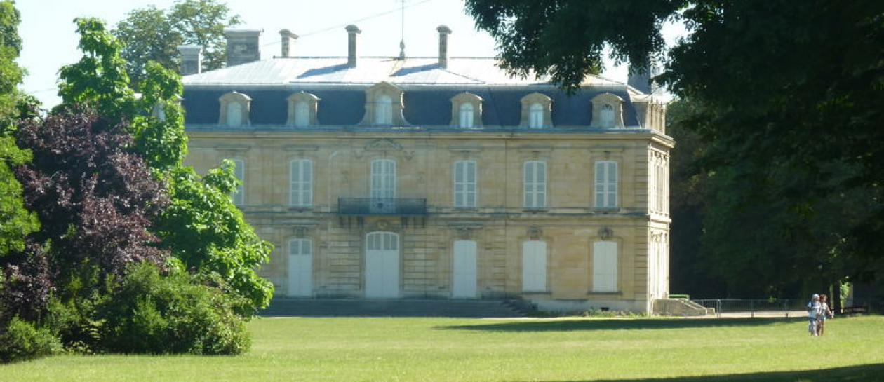The park and Château of Bois-Preau