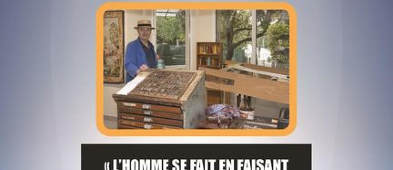 Typography demonstrations at Maison Daubigny