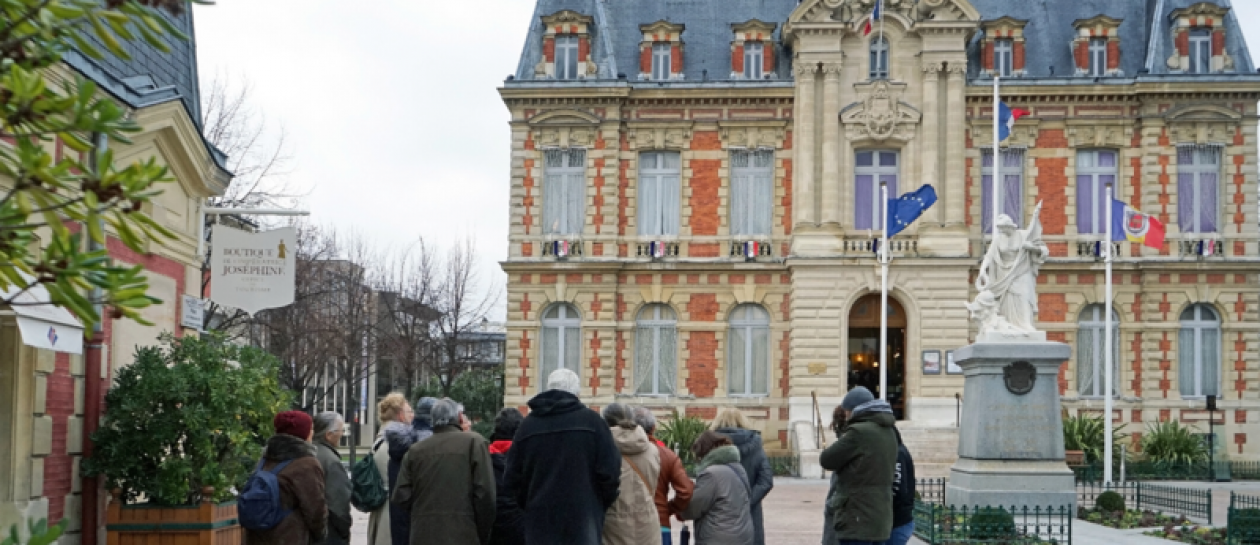 Guided tour of the historic heart of Rueil-Malmaison