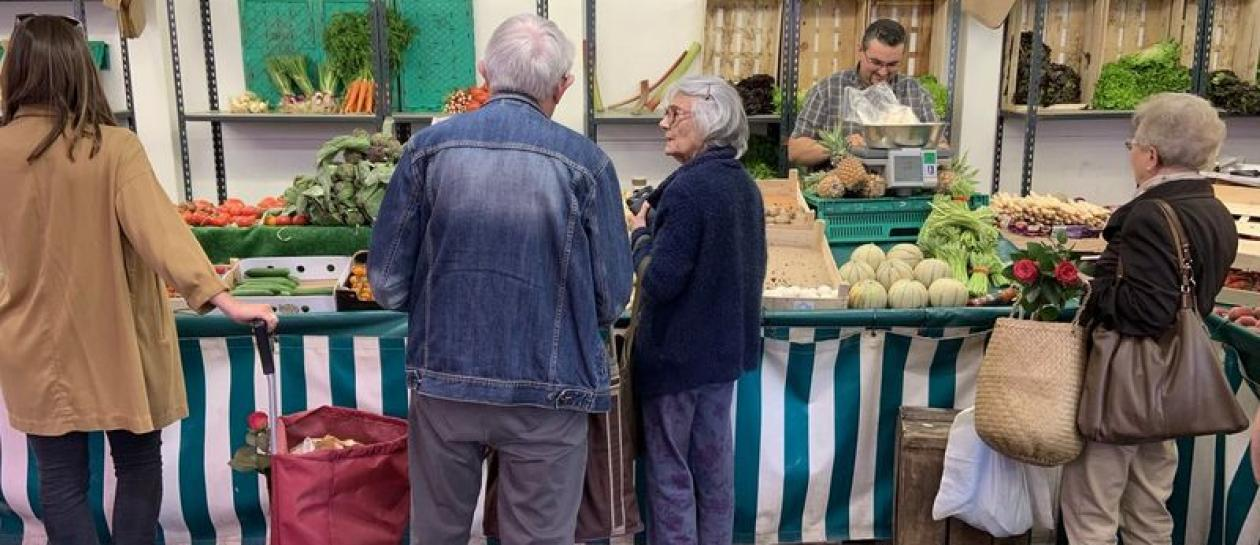 Buzenval market