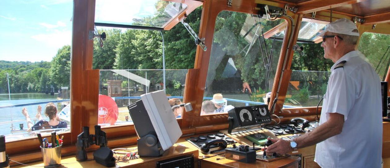 7 août - Croisière découverte d'1h30 au départ de Croissy-sur-Seine