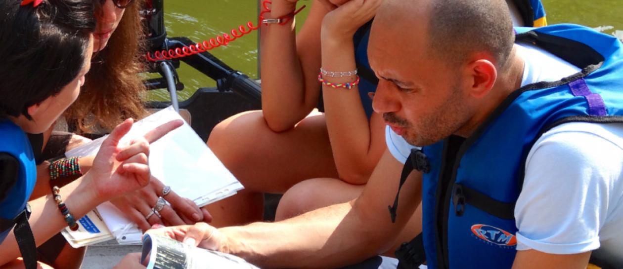 Rallye nautique en zodiac