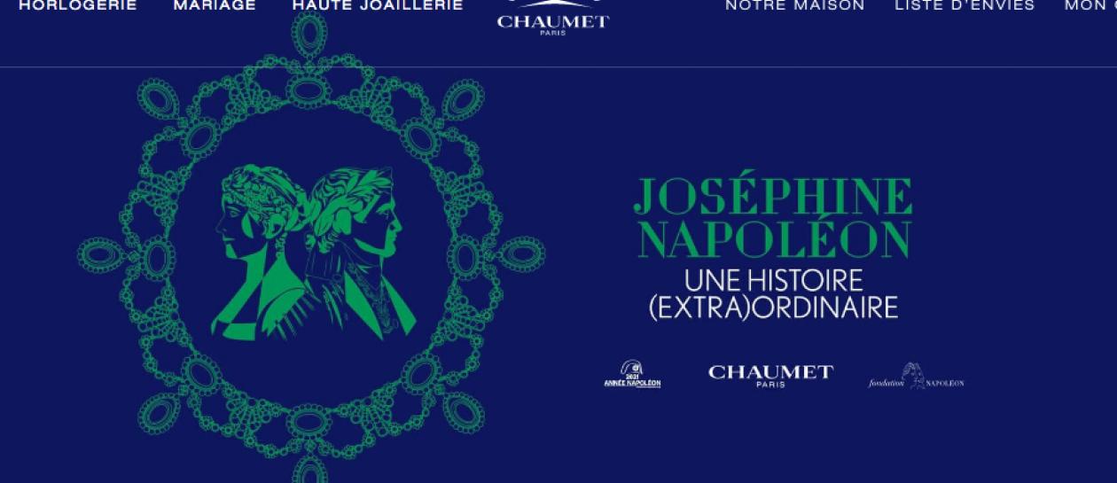 Conférence Joséphine et Napoléon, une histoire (extra)ordinaire