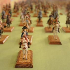 "Exhibition ""The figurines of the Napoleon's Grand Army"""