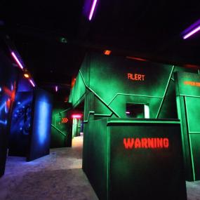 Come and challenge yourself at the Laser Game !