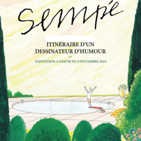 Exhibition Sempé, itinerary of a comic artist
