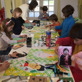 Workshops for children at Malmaison