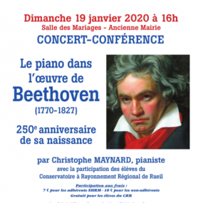 Concert The 250th anniversary of the birth of Beethoven