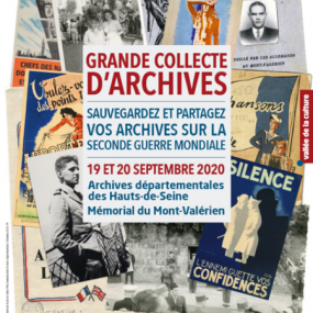 Call for the collection of archives related to the Second World War